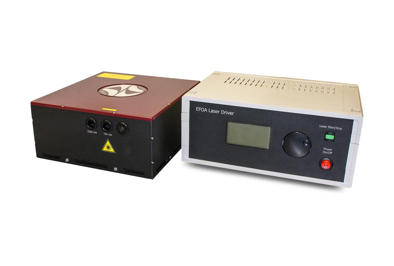 EFOA-SH laser head with control unit