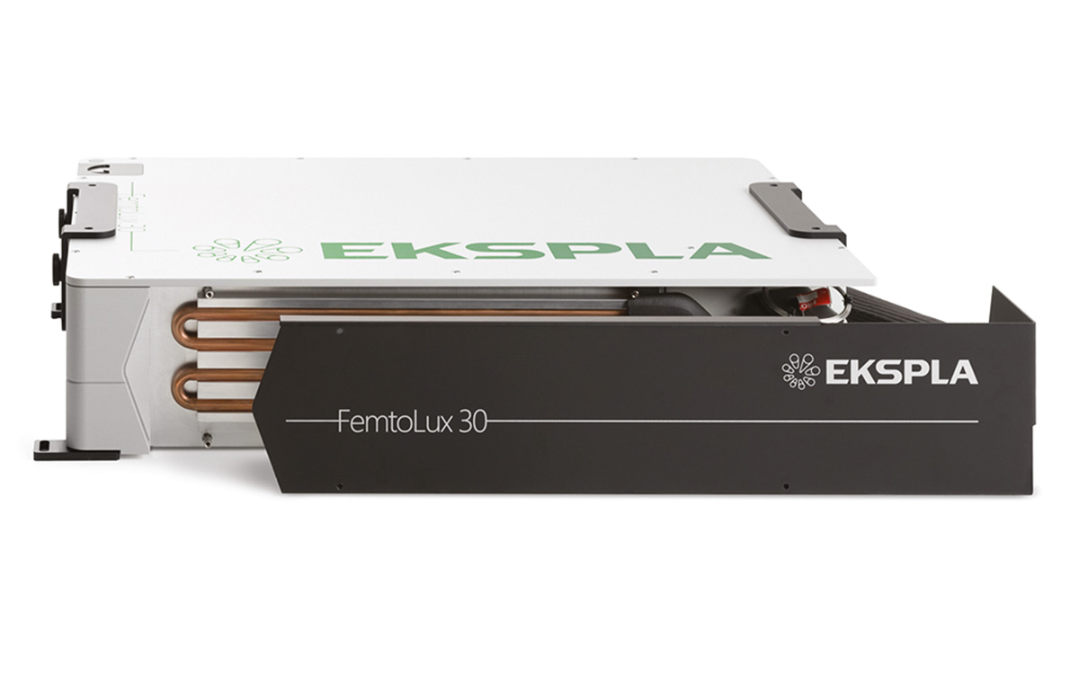 Cooling plate cover for FemtoLux30