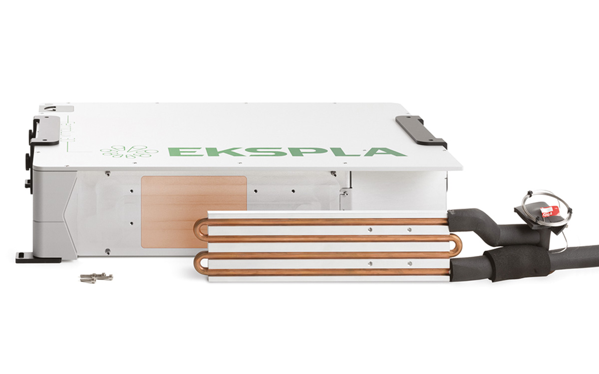 The cooling plate is detachable from FemtoLux30 laser head
