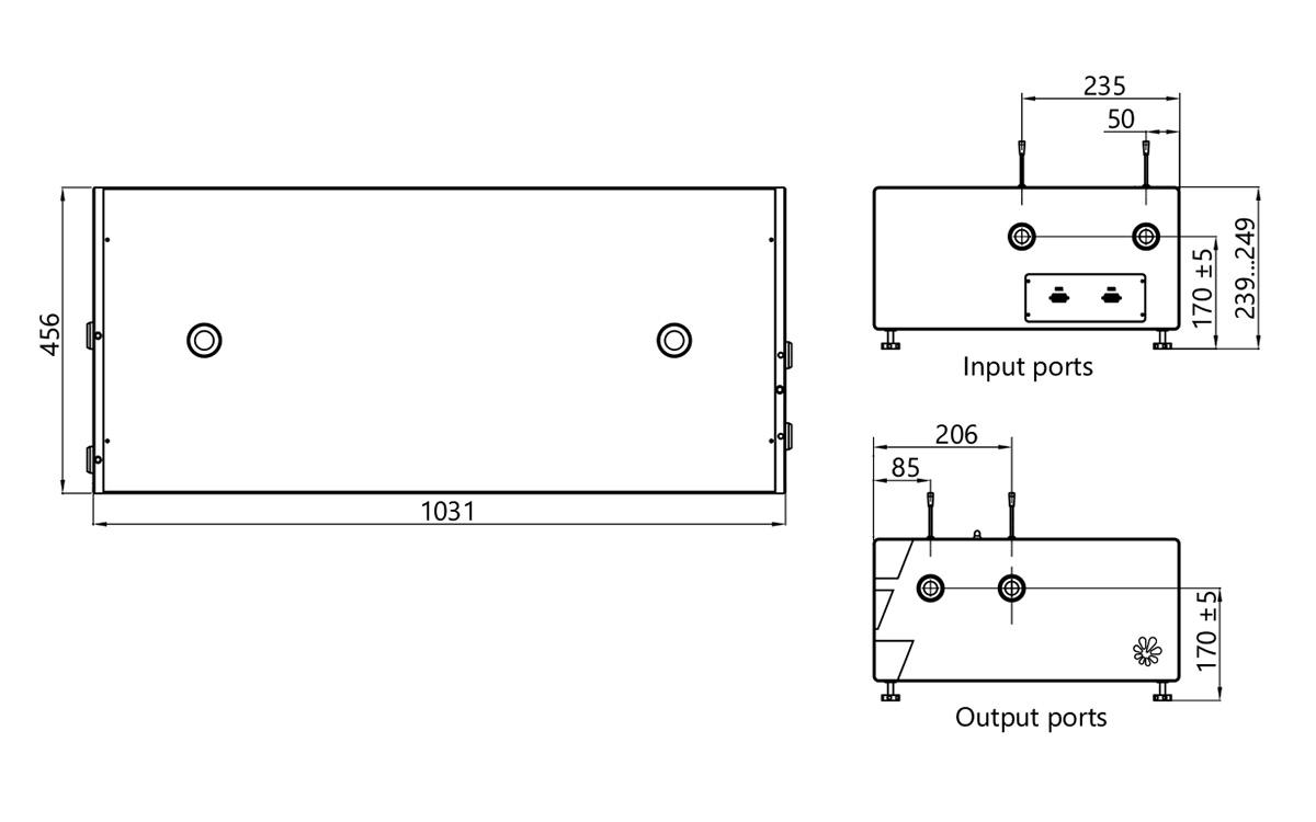 PG401 external dimensions