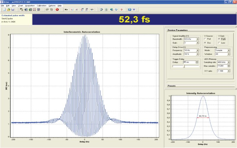 AA-M acquisition software Irtac