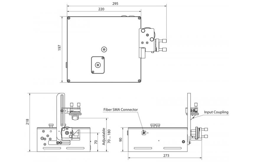 Dimensions of Geco autocorrelator
